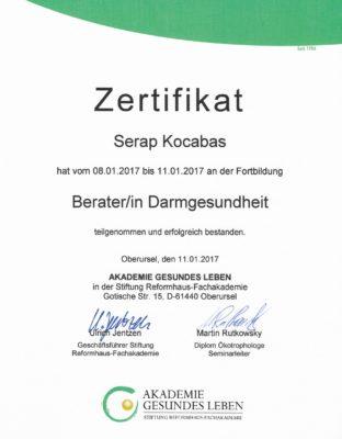 Zertifikat DG