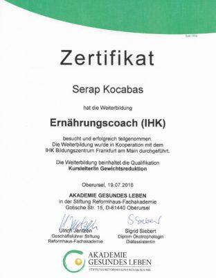 Zertifikat EC